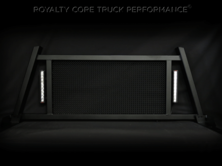 Royalty Core - Dodge Ram 1500 2002-2008 RC88X Ultra Billet Headache Rack with LED Light Bars - Image 5