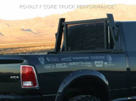 Royalty Core - Dodge Ram 1500 2009-2018 RC88X Ultra Billet Headache Rack with LED Light Bars - Image 4