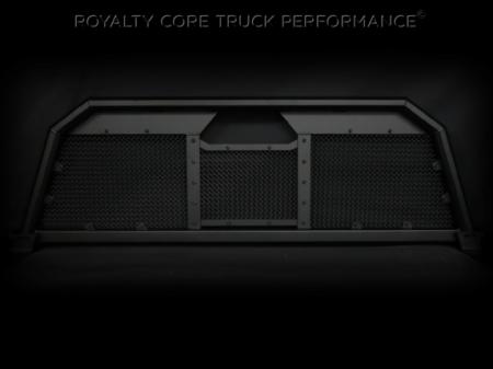 Headache Racks - RC88 - Royalty Core - Dodge Ram 2500/3500/4500 1994-2002 RC88 Billet Headache Rack w/ Diamond Mesh