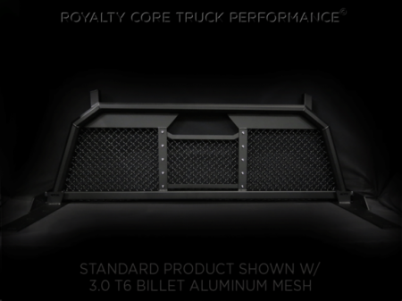 Royalty Core - Dodge Ram 2500/3500/4500 2003-2009 RC88 Billet Headache Rack with Diamond Mesh - Image 3
