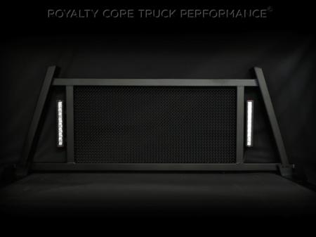Royalty Core - Dodge Ram 2500/3500/4500 2003-2009 RC88X Billet Headache Rack w/ LED Light Bars - Image 5