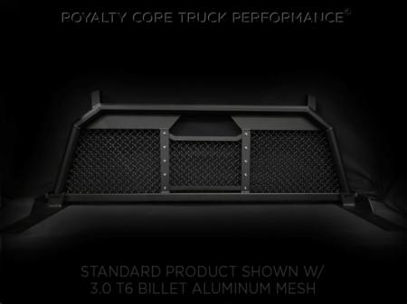 Royalty Core - Ford F-150 2004-2014 RC88 Ultra Billet Headache Rack with Diamond Crimp Mesh - Image 4