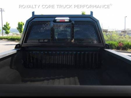 Royalty Core - Ford Superduty F-250 F-350 1999-2010 RC88 Headache Rack with Diamond Crimp Mesh - Image 3