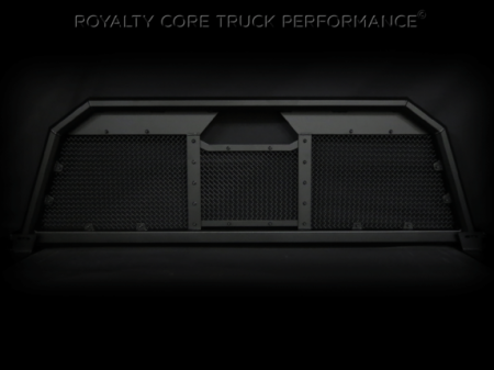 Headache Racks - RC88 - Royalty Core - Toyota Tundra 2007-2017 RC88 Ultra Billet Headache Rack with Diamond Crimp Mesh