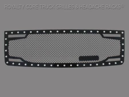 Grilles - RC2 - Royalty Core - GMC Sierra & Denali 1500 2007-2013 RC2 Twin Mesh Grille