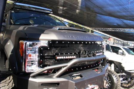 Royalty Core - Ford Super Duty 2017-2019 RC2X X-Treme Dual LED Full Grille Replacement - Image 3