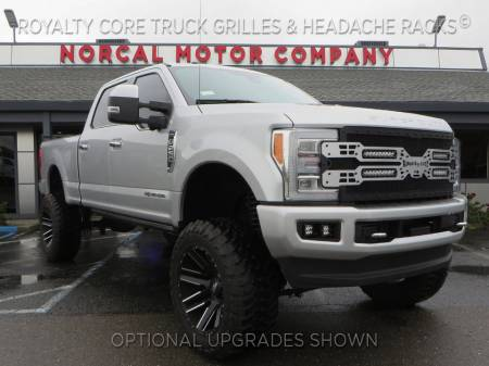 Royalty Core - Ford Super Duty 2017-2019 RC5X Quadrant LED Full Grille Replacement - Image 5
