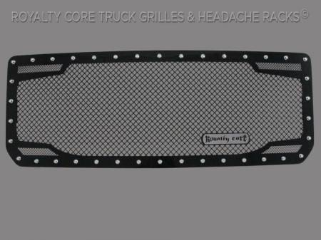 Grilles - RC2 - Royalty Core - GMC Denali HD 2500/3500 2015-2019 RC2 Twin Mesh Grille