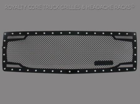 Grilles - RC2 - Royalty Core - Chevrolet 1500 2014-2015 RC2 Twin Mesh Grille (NON Z71)