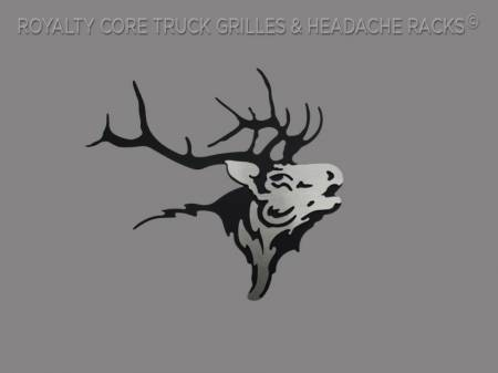 Emblems - Royalty Core - Elk Skull
