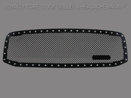 2500/3500/4500 - 2006-2009 2500, 3500, & 4500 Grilles - Royalty Core - Dodge Ram 2500/3500/4500 2006-2009 RC1 Classic Grille