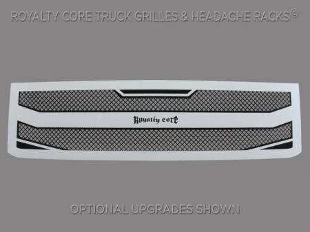 Royalty Core - Chevrolet Silverado 2500/3500 HD 2015-2019 RC4 Layered Grille - Image 3