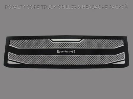 2500/3500 - 2015-2018 - Royalty Core - Chevrolet Silverado 2500/3500 HD 2015-2018 RC4 Layered Grille