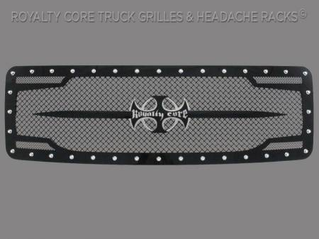 Grilles - RC2 - Royalty Core - Ford F-150 2013-2014 RC2 Main Grille with Sword Assembly