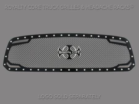 2500/3500 - 2013-2018 - Royalty Core - Dodge Ram 1500 2013-2018 RC2 Twin Mesh Grille
