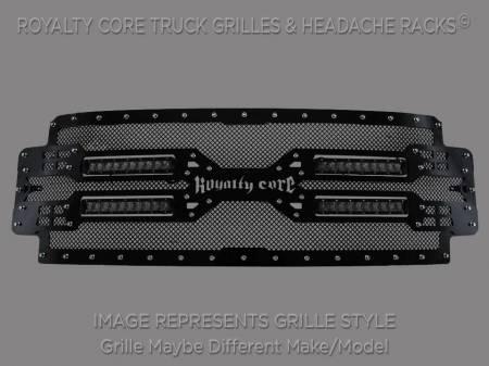 Royalty Core - Royalty Core Chevrolet Silverado 1500 2014-2015 Z71 RC5X Quadrant LED Grille - Image 2