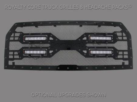 Grilles - RC5X - Royalty Core - Royalty Core Ford F-150 2015-2017 RC5X Quadrant LED Full Grille Replacement