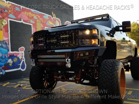 Royalty Core - Chevrolet Silverado 2500/3500 HD 2015-2019 RC5X Quadrant LED Grille - Image 2