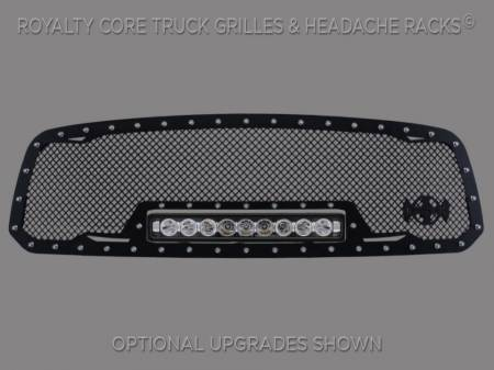 2500/3500 - 2013-2018 - Royalty Core - Dodge Ram 1500 2013-2018 RC1X Incredible LED Grille