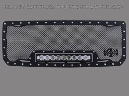 2500/3500 Sierra - 2015-2019 2500 & 3500 Sierra Grilles - Grandwest - GMC Denali HD 2500/3500 2015-2019 RC1X Incredible LED Grille