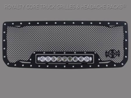 2500/3500 Denali - 2015-2018 - Grandwest - GMC Denali HD 2500/3500 2015-2018 RC1X Incredible LED Grille