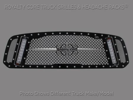 Grilles - RCX - Royalty Core - Chevy 2500/3500 2011-2014 RCX Explosive Dual LED Grille