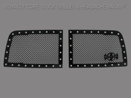 1500 - 2013-2018 - Royalty Core - Dodge Ram 1500 2013-2018 RC1 Classic Grille 2 Piece