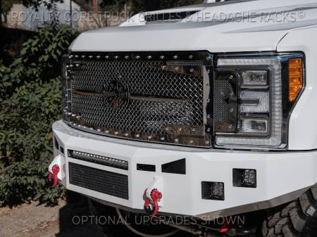 Royalty Core - Ford Super Duty 2017-2019 RC3DX Innovative Full Grille Replacement - Image 5