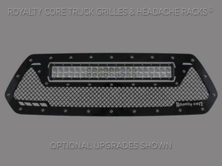 Grilles - RCRXT - Royalty Core - Toyota Tacoma 2016-2018 RCRX LED Race Line Grille-Top Mount LED