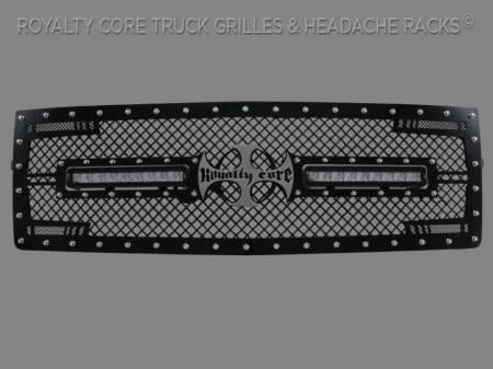 1500 - 2014-2015 1500 Grilles - Royalty Core - Chevrolet 1500 Z71 2014-2015 RC2X X-Treme Dual LED Grille