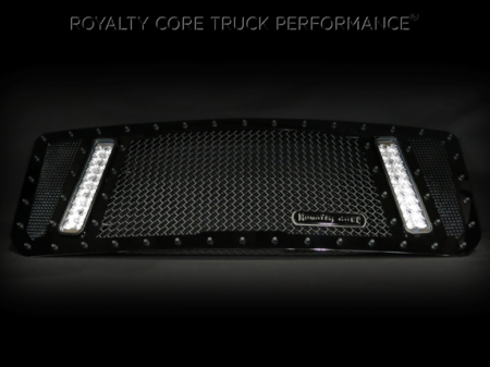 Royalty Core - GMC HD 2500/3500 2007-2010 RCX Explosive Dual LED Grille - Image 2