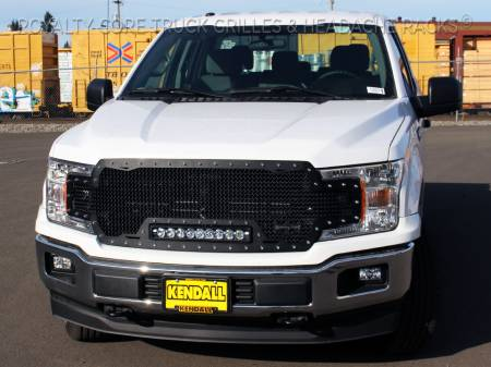 Meyer's - Ford F-150 2018-2020 RC1X Incredible LED Full Grille Replacement-Satin - Image 2