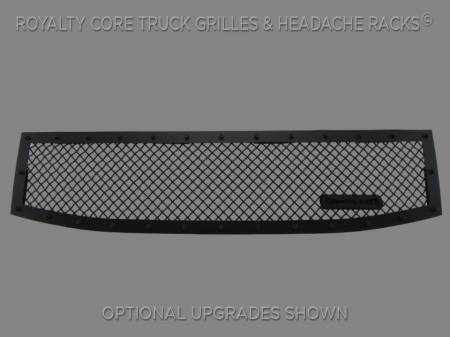Armada - 2008-2016 Armada Grilles - Royalty Core - Nissan Armada 2008-2016 Full Grille Replacement RCR Race Line Grille