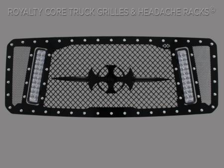 Super Duty - 2011-2016 Super Duty Grilles - Royalty Core - Ford Super Duty 2011-2016 RCX Explosive Dual LED Grille