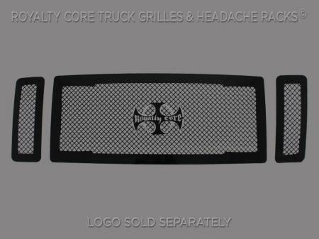 Royalty Core - Ford Super Duty 2008-2010 RC1 Main Grille 3 Piece No Studs-Smooth Look - Image 1
