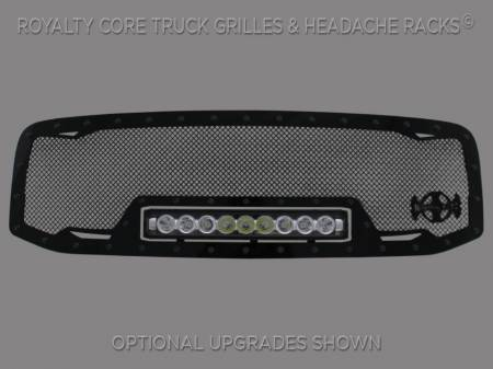 2500/3500/4500 - 2006-2009 2500, 3500, & 4500 Grilles - Royalty Core - Dodge Ram 2500/3500/4500 2006-2009 RC1X Incredible LED Grille