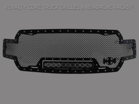 F-150 - 2018-2019 F-150 Grilles - Meyer's - Ford F-150 2018-2019 RC1X Incredible LED Full Grille Replacement-Satin