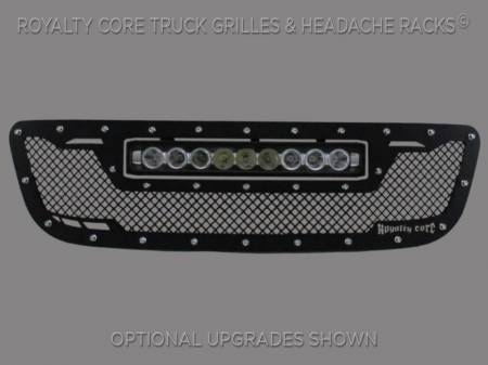 Royalty Core - Ford F-150 1999-2003 RCRX LED Race Line Grille-Top Mounted LED - Image 2