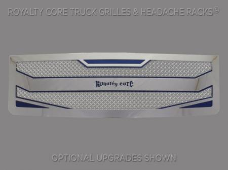 Grilles - RC4 - Royalty Core - Royalty Core GMC Sierra & Denali 1500 2007-2013 RC4 Layered Stainless Steel Truck Grille