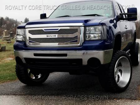 Royalty Core - Royalty Core GMC Sierra & Denali 1500 2007-2013 RC4 Layered Stainless Steel Truck Grille - Image 4