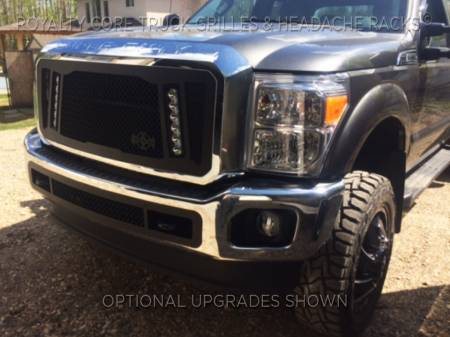 Royalty Core - Ford Super Duty 2011-2016 RCX Explosive Dual LED Grille - Image 4