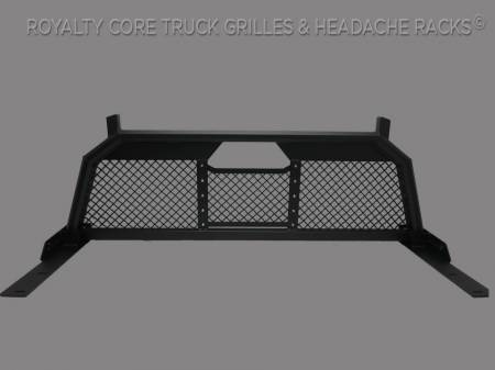 Royalty Core - Ford Superduty F-250 F-350 1999-2010 RC88 Headache Rack with Diamond Crimp Mesh