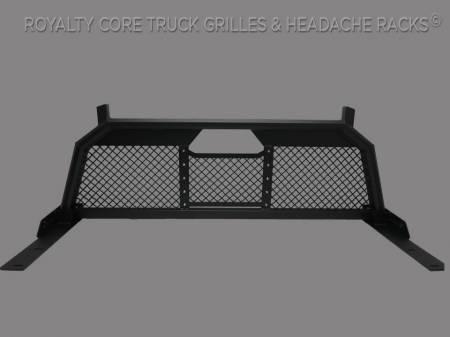 Headache Racks - RC88 - Royalty Core - Ford Superduty F-250 F-350 2011-2016 RC88 Headache Rack with Diamond Crimp Mesh