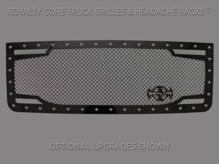 Royalty Core - GMC Sierra HD 2500/3500 2007-2010 RC2 Twin Mesh Grille - Image 1