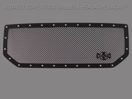 Grilles - RCR - Royalty Core - GMC Sierra 1500, Denali, & All Terrain 2016-2018 RCR Race Line Grille