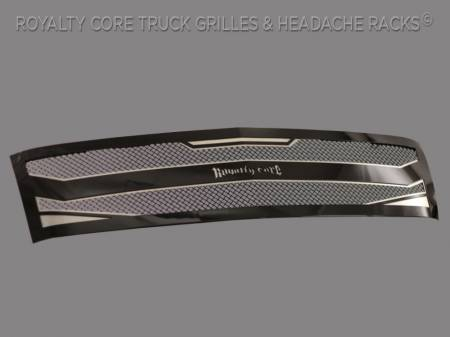 Royalty Core - Chevrolet Silverado Full Grille Replacement 1500 2007-2013 RC4 Layered Grille - Image 2