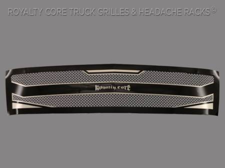 2500/3500 - 2007-2010 - Royalty Core - Royalty Core Chevrolet Silverado Full Grille Replacement 2500/3500 HD 2007-2010 RC4 Layered Grille