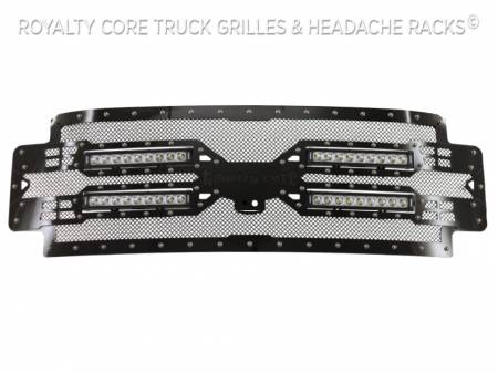 Royalty Core - Ford Super Duty 2017-2019 RC5X Quadrant LED Full Grille Replacement - Image 8