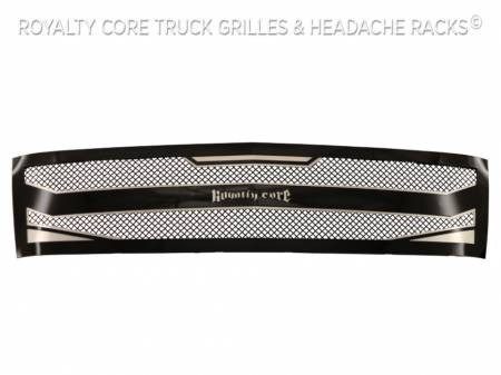 Royalty Core - Chevrolet Silverado Full Grille Replacement 1500 2007-2013 RC4 Layered Grille - Image 3
